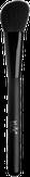 Irisk Кисть макияжная скошенная Perfect Brush для пудры и румян, натуральный шелк