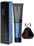 Estel Professional De Luxe Стойкая крем-краска 5/3, 60 мл.