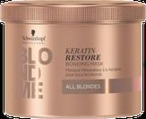 Schwarzkopf BLONDME Бондинг-маска кератиновое восстановление 200 мл.