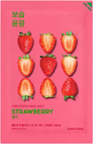 Holika Holika Pure Essence Mask Sheet Strawberry Тканевая маска освежающая с экстрактом клубники