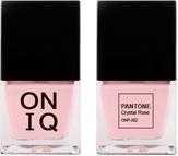 ONIQ Лак для ногтей с эффектом геля PANTONE Crystal Rose ONP-302