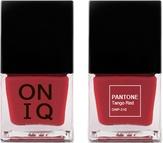 ONIQ Лак для ногтей с эффектом геля PANTONE Tango Red ONP-310