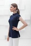 Лечи Красиво! Блуза женская 139 (сатори), размер 42, цвет синий-1