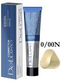 Estel Professional De Luxe Крем-краска корректор для окрашивания волос нейтральный 0/00N 60 мл.