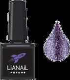 """Lianail Гель-лак с эффектом жидкой фольги """"Violet Flash"""", 10 мл."""