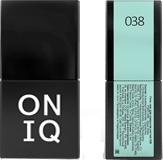 ONIQ Гель-лак для ногтей PANTONE 038, цвет Aqua glass OGP-038