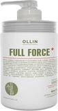 Ollin FULL FORCE Маска для волос и кожи головы с эктрактом бамбука, 650 мл.