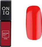 ONIQ Гель-лак для ногтей PANTONE 020s, цвет Barbados cherry OGP-020s