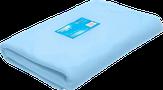 White Line Простыня одноразовая в пачке 80*200 SMS 20 голубой 10 шт.