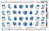BPW Style Слайдер-дизайн Зимние элементы синий