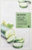 Mizon Joyful Time Essence Mask Cucumber Тканевая маска для лица с экстрактом огурца 25 мл