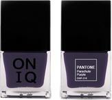 ONIQ Лак для ногтей с эффектом геля PANTONE Parachute Purple ONP-316