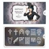 MoYou London пластина для стемпинга Gothic 03