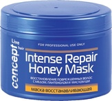 Concept Маска восстанавливающая с кератином и медом для сухих и поврежденных волос 500 мл.