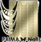 Prima Nails Металлизированные наклейки CL-006, Золото