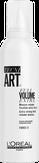 Loreal TECNI.ART 19 FULL VOLUME EXTRA Мусс для объема нормальных и непослушных волос 250 мл.