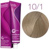 Londa Color Стойкая крем-краска 10/1 яркий блонд пепельный, 60 мл.