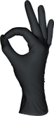MediOk Перчатки нитриловые, Цвет черный, Размер S, 50 пар