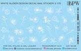 BPW Style Слайдер дизайн градиент Белые цветы