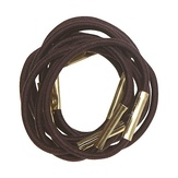 Dewal Резинки для волос, коричневые mini 10 шт./уп. RE028