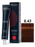 Indola Red&Fashion 6.43 Крем-краска Темный русый медный золотистый 60мл