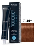 Indola Natural&Essentials 7.38 Крем-краска Средний русый золотистый шоколадный 60мл