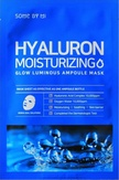 Some By Mi Hyaluron Moisturizing Glow Luminous Ampoule Mask Ампульная тканевая маска для лица с гиалуроновой кислотой