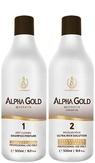 BC Original Alpha Gold Комплект нанопластика волос 500 мл.