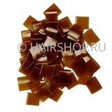 Hairshop Кератиновые капсулы для горячего наращивания коричневые 5 гр.