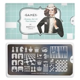 MoYou London пластина для стемпинга Games 01