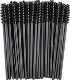 Modelon Щеточка для ресниц черная винтовая, упаковка 50 шт.