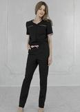 Лечи Красиво! Комбинезон женский 407(сатори), размер 48 цвет черный+розовый-1