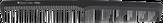 Hairway Carbon Advanced Расческа комбинированная 180 мм. 05086