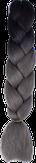 HIVISION Канекалон для афрокосичек черный/серый # 74