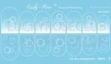 Lucky Rose Слайдер-дизайн эффект аэрографии Aero White-3