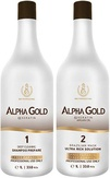 BC Original Alpha Gold Комплект нанопластика волос 1000 мл.