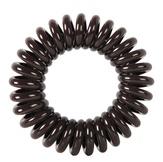 """Dewal Резинки для волос  """"Пружинка"""", цвет коричневый (3 шт.)"""