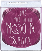 Invisibobble To The Moon Sweet Plum Резинка для волос, цвет бордовый 3 шт.