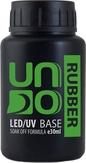 UNO Базовое покрытие для гель-лака RUBBER, 30 мл.