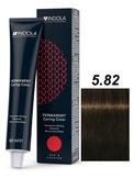 Indola Red&Fashion 5.82 Крем-краска Светлый коричневый шоколадный перламутровый 60мл