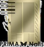 Prima Nails Металлизированные наклейки GM-05, Золото