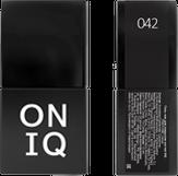 ONIQ Гель-лак для ногтей PANTONE 042, цвет Caviar OGP-042