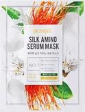 Petitfee Silk Amino Serum Mask Тканевая маска с аминокислотами шелка