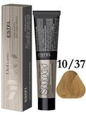Estel Professional De Luxe Silver Стойкая крем-краска для седых волос 10/37, 60 мл.