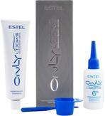 Estel Professional ONLY looks Краска для бровей и ресниц графит