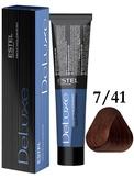 Estel Professional De Luxe Стойкая крем-краска 7/41, 60 мл.