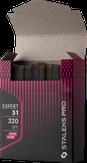Сталекс Набор сменных файлов для пилки короткой (шлифовщик на пенной основе) Expert 320 грит (10 шт)