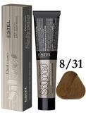 Estel Professional De Luxe Silver Стойкая крем-краска для седых волос 8/31, 60 мл.