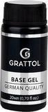Grattol База каучуковая IQ Rubber Base Gel, 20 мл.