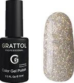 Grattol Luxury Stones Diamond Гель-лак №1 9 мл